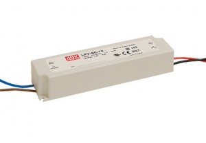 MeanWell, 60W,12 VDC-5A