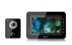Dahua IP portafon komplet ekran 7'', pozivni panel sa kamerom i čitačem kartica