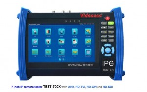 Integrirani tester za IPC, AHD,HDCVI,TVI,HDSDI analogne kamere