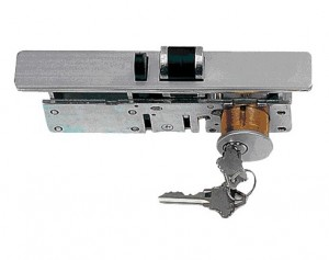 DEADLATCH W/CYLINDER&THUMBTURN S-306