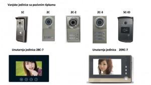 Portafon kompleti - odaberite sami komplet po želji