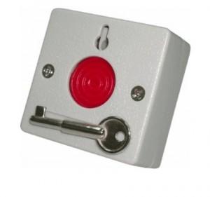 PANIK TIPKA S KLJUČEM (panik tipka sa ključićem za deaktivaciju nakon aktiviranja)