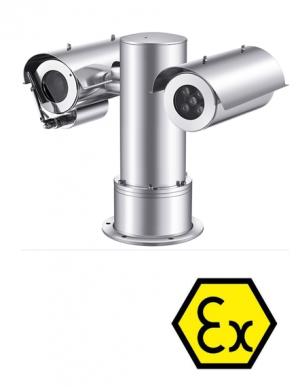 "ATEX certificirana nehrđajuća PTZ Ex kamera ITEX1000ZPPS230 SONY 2.8""CMOS Senor (30x, 2Mpx, IR do 100m)"