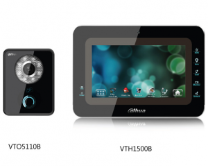Dahua analogni Videointerfonski komplet  DH-VTKA-VTO5110B-VTH1500B