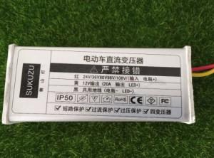 Silazni prevarač DC napona 24-108V na 12V DC 10A (max 20A)