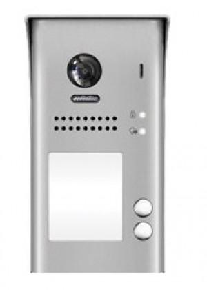 Vanjska pozivna jedinica sa širokokutnom kamerom u boji i 2 pozivne tipke.
