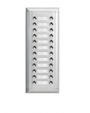 Dodatni vanjski panel sa 24 pozivne tipki u 2 reda za VT DMR11S vanjske jedinice