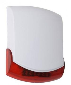 MC-WS905R Vanjska sirena s LED diodama, antisabotažna zaštita,IP54, akumulator 12V/1,3Ah nije u kompletu