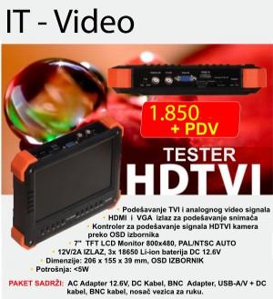 HDTVI tester