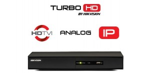TURBO HD DVR Hikvision DS-7204 (4ch, 1080p, H.264,H.264+, +1 IP, HDMI, VGA)