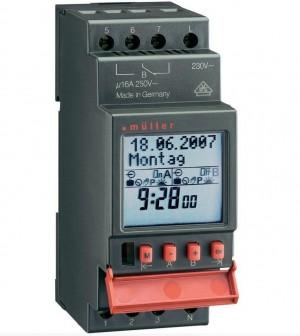 Uklopni sat Müller SC pro 12 V/DC, 12 V/AC 16 A/250 V