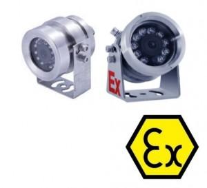 """ATEX certificirana nehrđajuća Ex kamera ITEX701PWC2 SONY1/3""""CMOS Senor (4mm/6mm, 2Mpx, IR do 30m)"""
