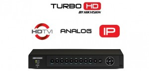 TURBO HD video snimač Hikvision DS-7604HUHI-V2 (4 kanala, 1080p@25fps, H.264, HDMI, VGA, 5MPx)