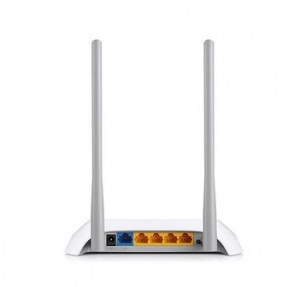 Router TP-Link 2,4GHz Wireless N 300Mbps, 4 x 10/100Mbps LAN Ports, 1 x 10/100Mbps WAN Port, Fixed Omni Directional Antenna 2 x 5dBi