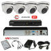 TURBOHD Komplet video nadzor 4 HD kamere Dome ili Bullet + Mogućnost 1IP prodavac VideoNadzori Hrvatska  za samo 2.750,00kn