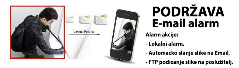 HD Video nadzor alarm detekcija, automatski alarmni sustav